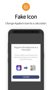 screenshot of Ultra AppLock-Ultra AppLock protects your privacy. version 4.9
