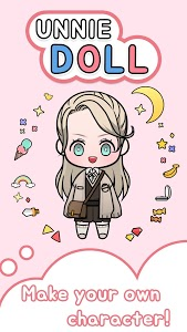 screenshot of Unnie doll version Varies with device