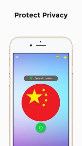 screenshot of VPN CHINA - Free Unlimited &Secure Proxy & Unblock version 8.3t