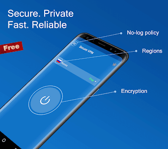 screenshot of Secure VPN - Free VPN Proxy, Best & Fast Shield version 1.5.4