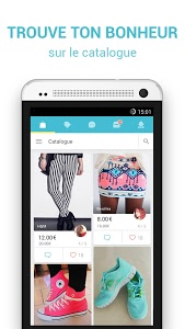 screenshot of Vinted.fr version 6.15.5.0