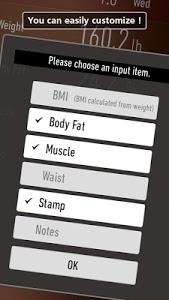 screenshot of Weight Loss Tracker - RecStyle version 3.2.7