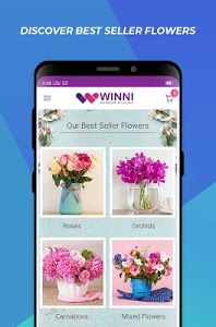 screenshot of Winni - Cake, Flowers & Gifts Delivery India version 3.15.8.0