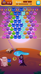 screenshot of Witch Hunt Bubble Shooter version 1.1.2