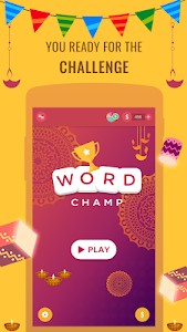 screenshot of Word Champ - Word Games, Free Word Connect Game version 6.5