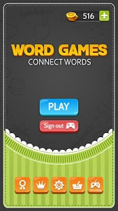screenshot of Word Games : Connecting Words version 1.0.2
