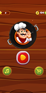 screenshot of Word Puzzle : Top Chef version 1.0