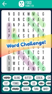 screenshot of Word Search 2019: Word searching game for free version 1.2