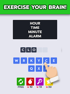 screenshot of Word to Word: Fun Brain Games, Offline Puzzle Game version 1.4.1
