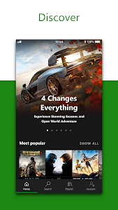 screenshot of Xbox Game Pass version 1903.160.320