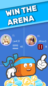 screenshot of Dice Clubs - Social Dice Poker version Varies with device