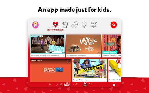 screenshot of YouTube Kids version 5.01.1
