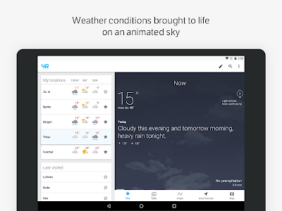 screenshot of Yr version Varies with device