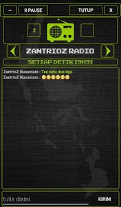 screenshot of ZantrioZ Walkie Talkie version 6.0