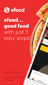 screenshot of efood delivery version 3.4.0