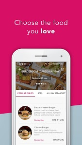 screenshot of foodpanda - Local Food & Grocery Delivery version 5.20.0